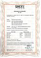 Certifikát Deklaracja zgodności